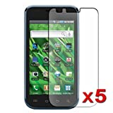 5x Samsung Vibrant SGH-T959 Premium Clear LCD Screen Protector Cover Guard Film, no cutting is required! Exact fit and satisfaction guaranteed!