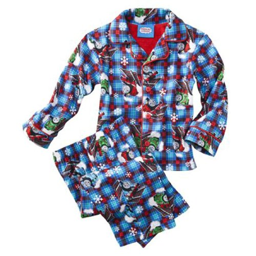 Thomas the Train Toddler 2pc Coat Pajamas (2T)