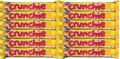Cadbury Crunchie Chocolate Bars, 12-Count