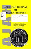 img - for American Journal of Ancient History (New Series 2.1, 2003) book / textbook / text book