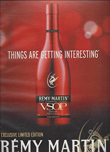 print-ad-for-2010-remy-martin-vsop-alcohol-things-are-getting-interesting