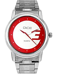 "Dice ""Smooth-4143"" Formal Round Shaped Wrist Watch For Men. Fitted With Beautiful Multi Color Dial And Stainless..."