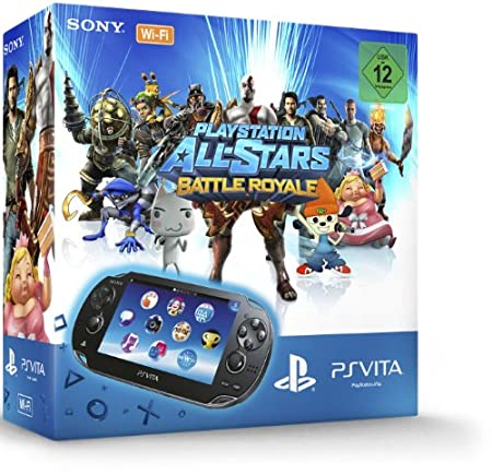 PlayStation Vita Wi-Fi + PlayStation All-Stars: Battle Royale