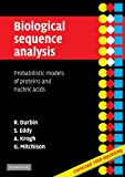 Biological Sequence Analysis: Probabilistic Models of Proteins and Nucleic Acids