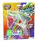 Light Up Bubble Blowing Gun