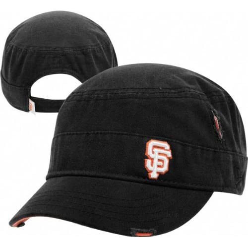 San Francisco Giants Womens Ripped Military Hat