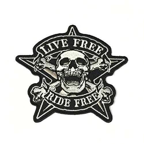 4-skull-live-free-ride-free-crossbone-star-patch-for-biker-vest-motorcycle-jacket-mc-racing-iron-on-