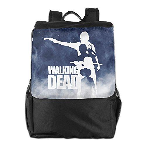 Walking Dead Adults Black Military Lightweight Computer Adjustable Strap Backpack (Walking Dead Cooler Bag compare prices)