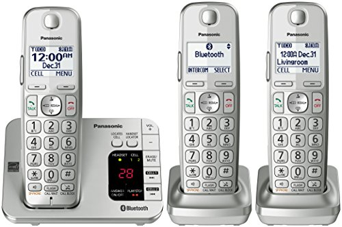 panasonic-kx-tge463s-link2cell-bluetooth-cordless-phone-with-answering-machine-3-handsets