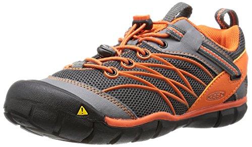 KEEN Chandler CNX Shoe (Little Kid/Big Kid), Gargoyle/Koi, 1 M US Little Kid (Kids Hiking Shoes compare prices)