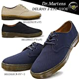ドクターマーチン メンズスニーカー デルレイ 3アイシュー キャンバス 16512001 16512270 16512410 Dr.MARTENS DELRAY 3 EYE SHOE 16512001(ブラック) 270cm(UK8)