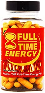 Full-Time Energy Pills - 30 Capsules - Fat Burners - Best Natural Energy Booster Weight Loss Supplement that Really Works Fast for Both Men and Women - #1 Fat Burner Plus Diet Pills - Weight Loss Products