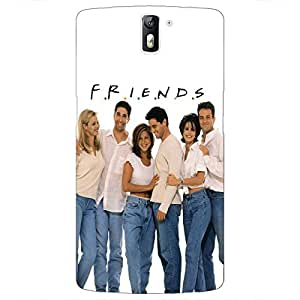 Jugaaduu TV Series FRIENDS Back Cover Case For OnePlus One