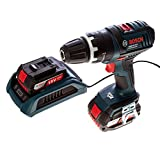 Bosch GSB18VLI2W 18V Cordless Combi Drill with Wireless Charging System