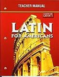 Latin for Americans, Glencoe Latin 1, Teacher Manual