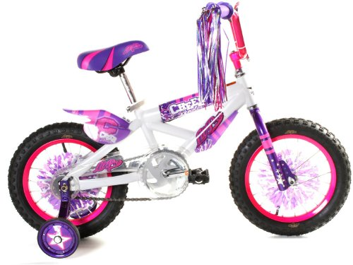 Dynacraft Lil Pro Girls Cheerleader Bike (14-Inch Wheels)
