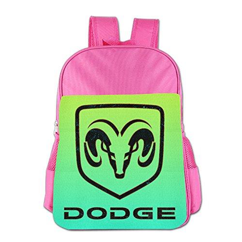 launge-kids-dodge-logo-school-bag-backpack