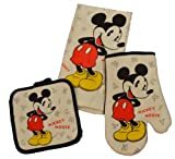 Disney 3 Piece Kitchen Set Mickey Mouse Letters