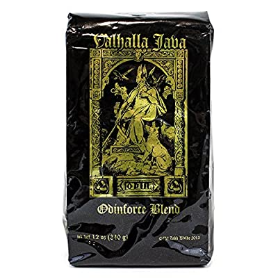 Valhalla Java Whole Bean Coffee, Fair Trade and USDA Certified Organic