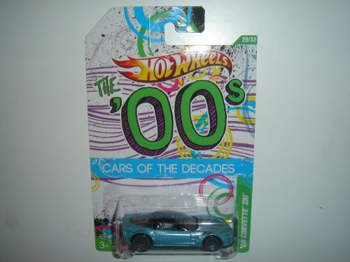 2012 Hot Wheels 00s Cars of the Decades '09 Corvette ZR1 Ice Blue/Black #29/32 - 1