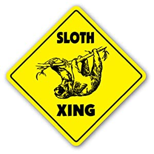 Sign xing gift novelty animal lover slow slo poke: Home & Kitchen