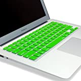 Kuzy - Air 11-Inch Keyboard Silicone Cover Skin for New Apple MacBook Air 11.6-Inch Aluminum Unibody - Green