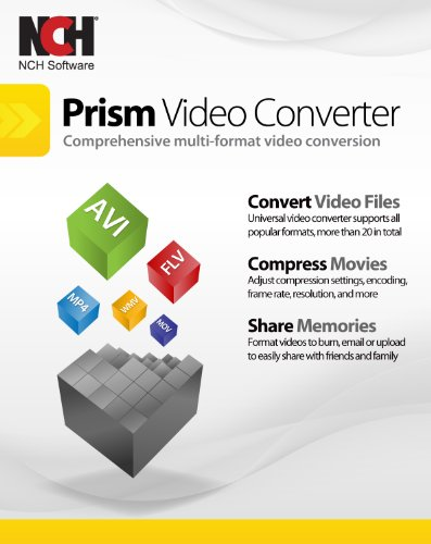 Prism Video Converter Software - Convert Between AVI MP4 MOV and Other Formats [Download] (Video Convert Software compare prices)