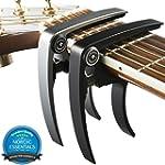 Guitar Capo (2 Pack) for Guitars, Uku...