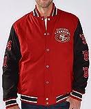 "San Francisco 49ers NFL ""Field Goal"" Super Bowl Commemorative Canvas Jacket"