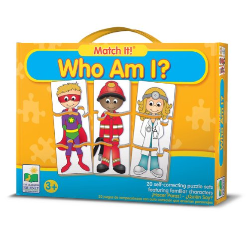 The Learning Journey Match It! Who Am I?