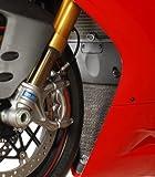 R&G(アールアンドジー) ラジエターガード上下セット ブラック 1199 Panigale/S [パニガーレ](12-) RG-RAD0117BK