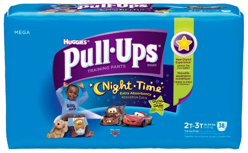Huggies Pull-Ups Night*Time Original Training Pants - Boys - 2T-3T - 38 ct