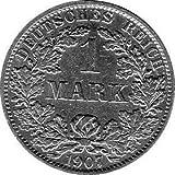1 Mark Imperio Alemán, 1907 A (Jäger: 17) MBC