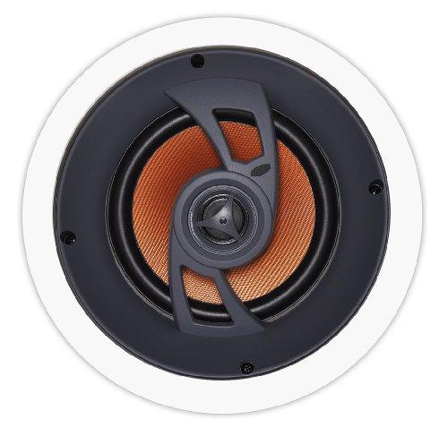 Osd Audio Ice660 6.5-Inch Polypropylene 150-Watt Angled In-Ceiling Speaker, Single
