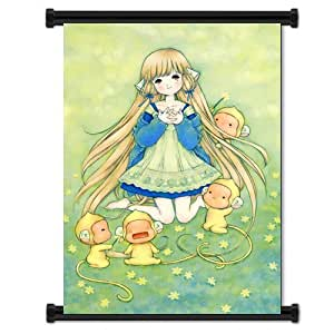 Chobits Anime Fabric Wall Scroll Poster (16x23)Inches. [WP]-Chobits-20