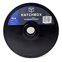 HATCHBOX 1.75mm Blue PLA 3D Printer Filament - 1kg Spool (2.2 lbs) - Dimensional Accuracy +/- 0.05mm from HATCHBOX 3D Printer