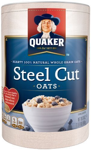 Quaker Steel Cut Oats, 30 oz