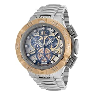Invicta Men's 13737 Subaqua Analog Display Swiss Quartz Silver Watch