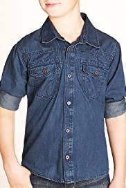 Pure Cotton Classic Collar Denim Shirt [T87-3224F-S]