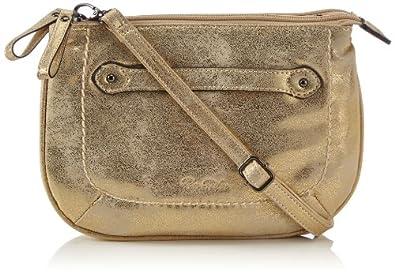 Tom Tailor Acc SHINI Handtasche 15002 10 Damen Henkeltaschen 24x17x7 cm (B x H x T), Gold (gold 10)