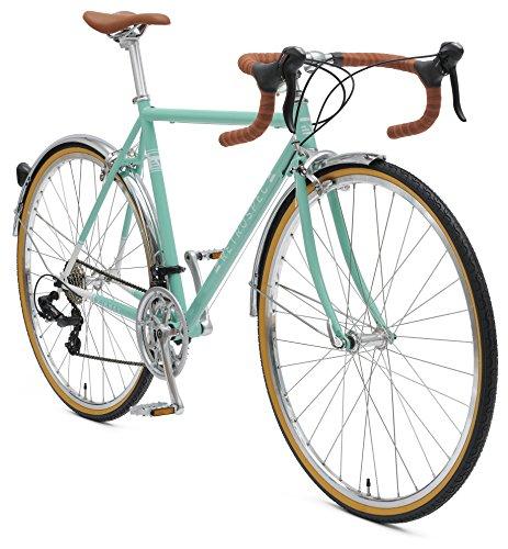 Retrospec Bicycles Kinney 14-Speed Vintage Hybrid Diamond Drop-Bar Frame Bicycle 1