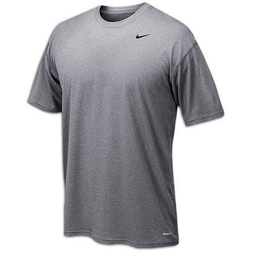 Nike Men's Legend Short Sleeve Tee (Medium, Grey)