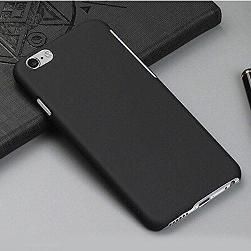 Rishabh Exports Matte Finish Back Case For Apple iphone 6 (Black)