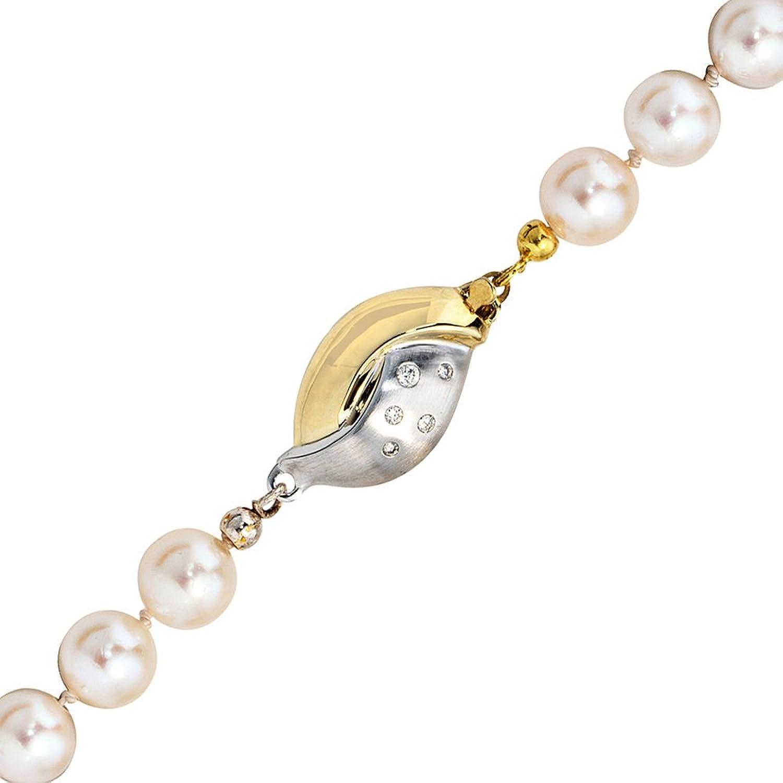 Damen Schließe 585 Gold Gelbgold teilrhodiniert teilmattiert 10 Diamanten Brillanten online bestellen