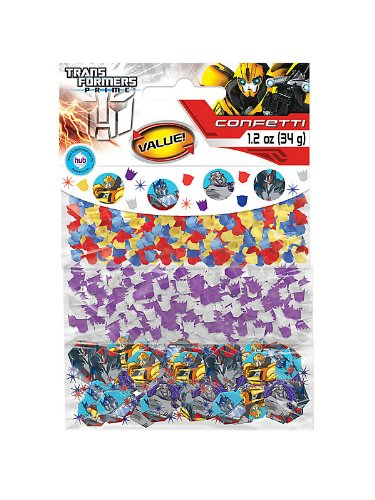 Transformers Prime Party Confetti