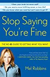 Bargain eBook - Stop Saying You re Fine