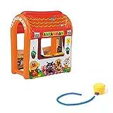 ≪PINOCCHIO≫アンパンマン エアー遊具 おもちゃ 対象年齢3歳から(J4971404306097 J4971404297838) (J4971404306097(おおきなハウス))