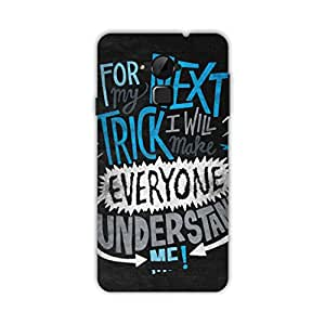 HAPPYGRUMPY DESIGNER BACK COVER FOR COOLPAD NOTE 3 PLUS/ NOTE 3