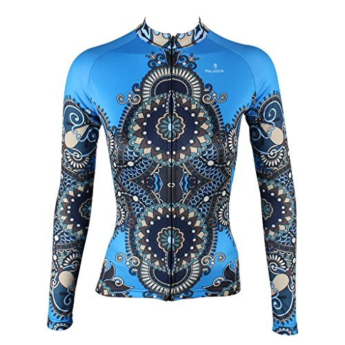 qinying-women-patterns-stylish-breathable-bicycle-jersey-long-sleeve-blue-m