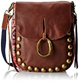 Lucky Brand Janis Cross Body Bag,Red,One Size